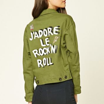 J'adore Le Rock N Roll Jacket