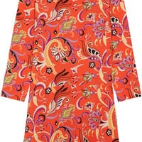 Etro - Printed silk crepe de chine dress