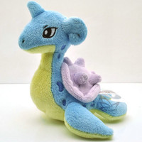 "New  6"" Lapras Pokemon Rare Soft Plush Toy Doll/PC1732"