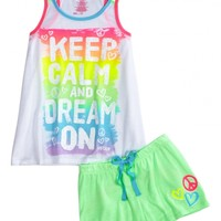Keep Calm Dream On Pajama Set
