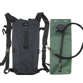 New Sale 3L Hydration System Water Bag Pouch Backpack Bladder Hiking Climbing Survival