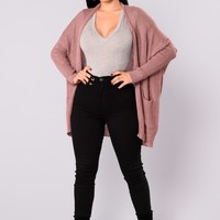 Take Me Home Cardigan - Lavender