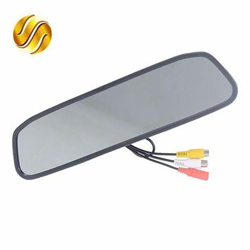 ac NOOW2 Car Monitor 4.3' Screen For Car Rear View Reverse Camera TFT LCD Rear view Mirror Display 4.3 Inch Color HD