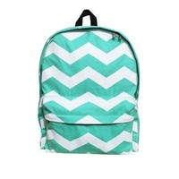 ZLCY Original Geometry Flash Wave Backpack