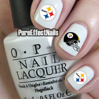 Pittsburgh Steelers Nail Decals