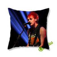seconds of summer michael clifford Square Pillow Cover