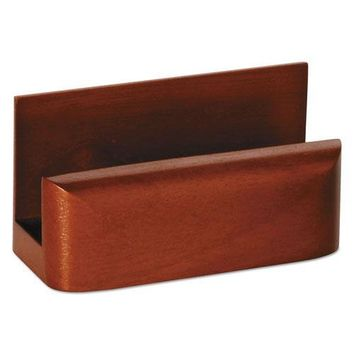 Rolodex™ Wood Tones™ Business Card Holder
