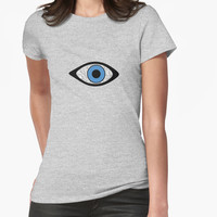 "'""evil eye 03"" abstract' T-Shirt by BillOwenArt"