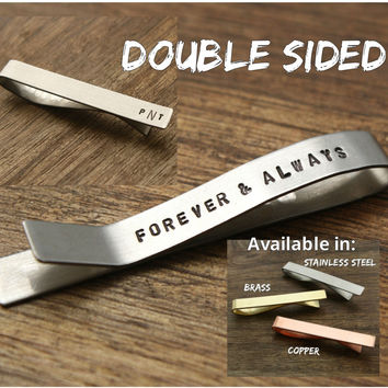 Forever and Always Tie Clip