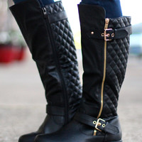 Rebel Riding Boots {Black}