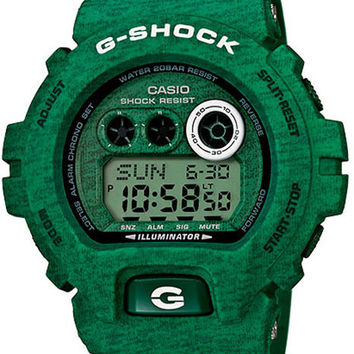 Casio G-Shock Heathered Series - Kelly Green - 200 Meter Water Resistance