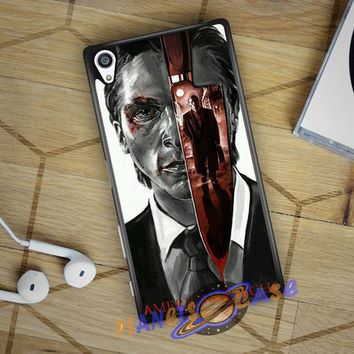 American Psycho Sony Xperia Z5 case Planetscase.com