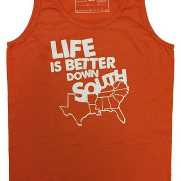 'Life is Better Down South' Tank Top (S Only)