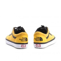 The North Face x Old Skool MTE DX 'Yellow' - Vans - VA348GQWI - yellow/black | GOAT