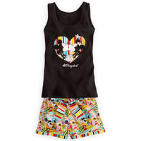 Disney Mickey and Minnie Mouse Tank Tee and Shorts Set for Women | Disney Store