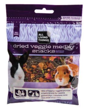 All Living Things® Dried Veggie Medley Small Animal Snack