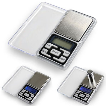0.01gx200g Mini Digital Jewelry Pocket Scale Gram Precise Weighing Balance  D_L = 1712873796