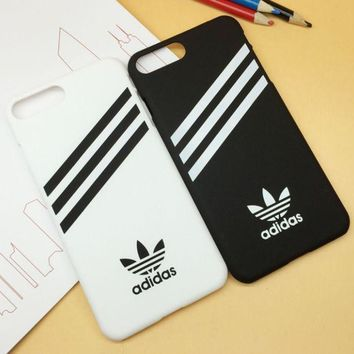 PEAPDQ7 Adidas Print  Sports Cover Case For Iphone 7 7 PLus & 6 6s Plus