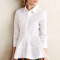 Poplin Empire Top by HD in Paris White