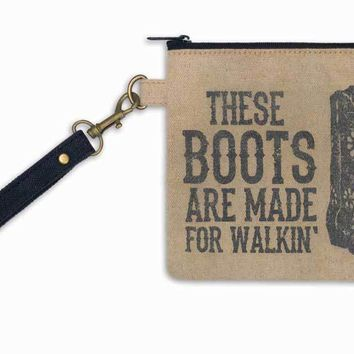 These Boots Wristlet