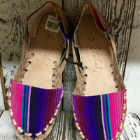 Annette's Favorite Serape Shoes