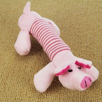 Cute Puppy Cat Squeaker Squeaky Plush Sound Toys Funny Dog Pet Plush Chew Throw Squeak Toys