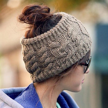 Stylish Crochet Knit Hairband