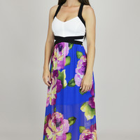X- Out The Drama Fancy Floral Maxi Dress