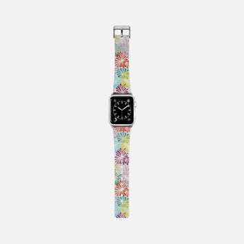 firework flower party transparent apple watch band Apple Watch Band (38mm) by Sharon Turner | Casetify