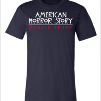 the real american horror story donald trump - Unisex T-shirt