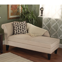 TMS Leena Storage Chaise Lounge
