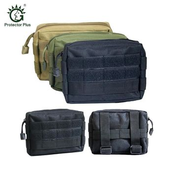 Airsoft Tactical Bag 600D Nylon EDC Bag Military MOLLE Small Utility Pouch Waterproof Magazine Outdoor Hunting Bags Waist Bag