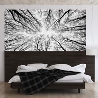 Creative Effect Black Tree Branches 3D Headboard Wall Sticker Room Bedroom Wall Decal Bed Bedside Vinyl Home Decor 2018 Latest