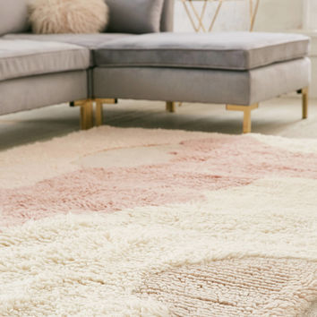 Lola Abstract Shag Rug | Urban Outfitters