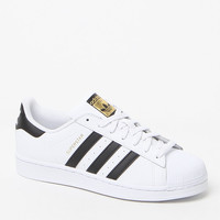 adidas Women's Black and White Superstar Sneakers at PacSun.com