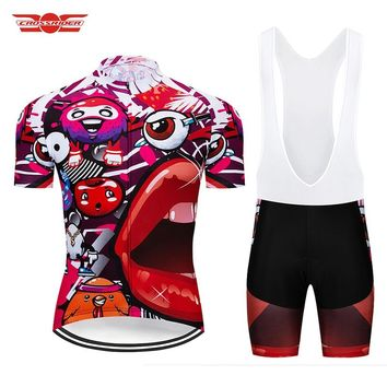 Tour de France 2018 Pro Team Italy Cycling Jerseys Set Bicycle Clothing Bike Wear Clothes Breathable Mens Shorts Maillot Culotte
