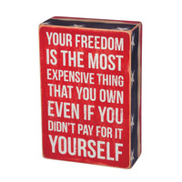 """""""Your Freedom"""" Wall Decor"""