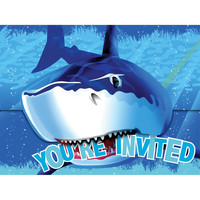 Shark Splash Invitation Gatefold/Case of 48