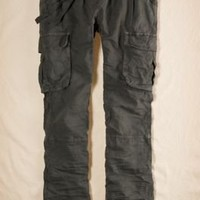 Aerie Softest Slouchy Linen Cargo Pants