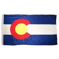 Colorado 4ft x 6ft Superknit Polyester Flag