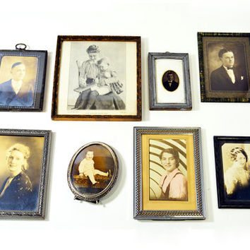 Set of Early 1900's Antique Gallery Wall Photo by BananasDesign