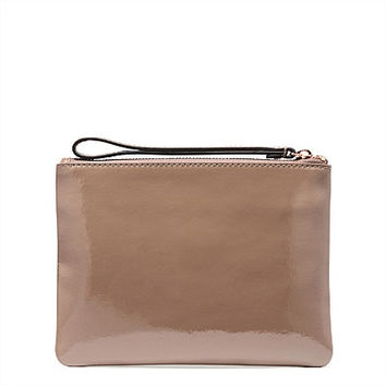 Leather Statement Clutch - RAINY DAY by VIDA VIDA Ls1JgG25