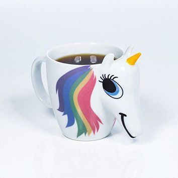 THUMBS UP - COLOR CHANGING UNICORN MUG