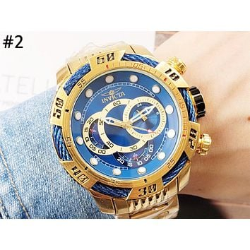 INVICTA men and women models high-end wild fashion quartz watch #2