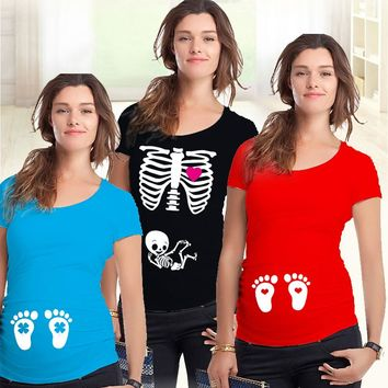 Adorable Maternity T Shirts!! Many Different Varieties!!  Sizes S, M, L, XL, And XXL