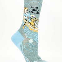 Here Comes Trouble -- Socks