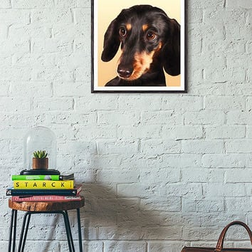 Dachshund print, dachshund art, printable art, wall art printable, home decor prints, instant download, wall decor print, wall art, poster