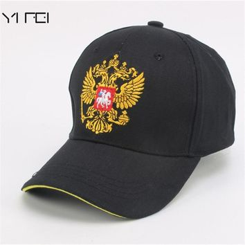 Trendy Winter Jacket YIFEI Unisex 100% Cotton Outdoor Baseball Cap n Emblem Embroidery Snapback Fashion Sports Hats For Men & Women Patriot Cap AT_92_12