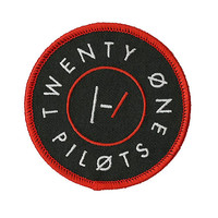 Twenty One Pilots Circle Logo Iron-On Patch