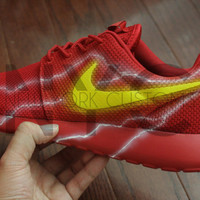 The Flash Nike Roshe Run One Custom